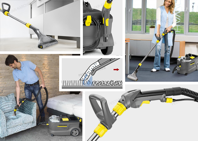 Karcher Carpet Cleaner Puzzi 10 1 Super Carpet Cleaner