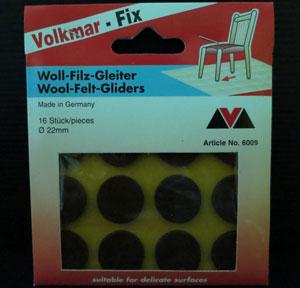 Wool Felt Gliders