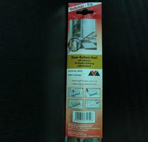 DOORSEAL PVC with Brush ( Brown )