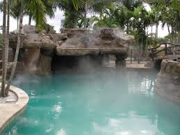 Swimming Pool Mist System Machine Special Effect