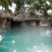 swimming pool mist system