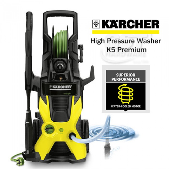 karcher multi purpose high pressure cleaner k5 premium karcher high pressure series. Black Bedroom Furniture Sets. Home Design Ideas