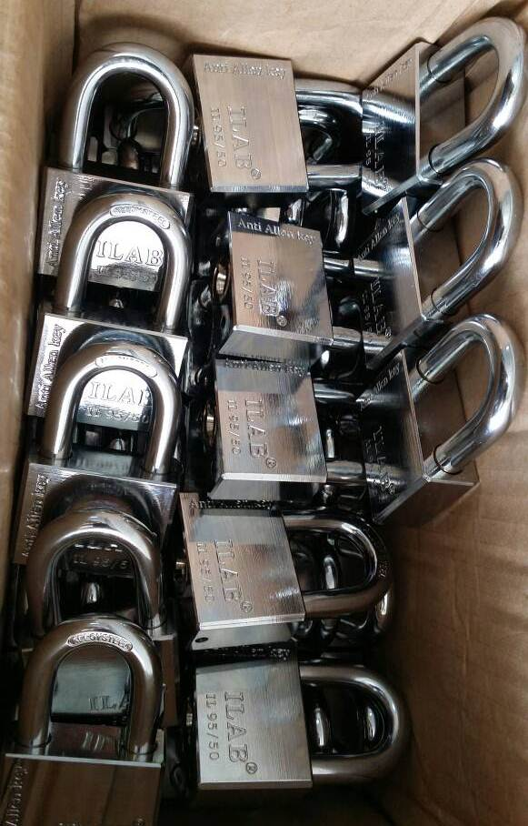 Additional 40pcs IL95/50 ILAB / IOWA padlock