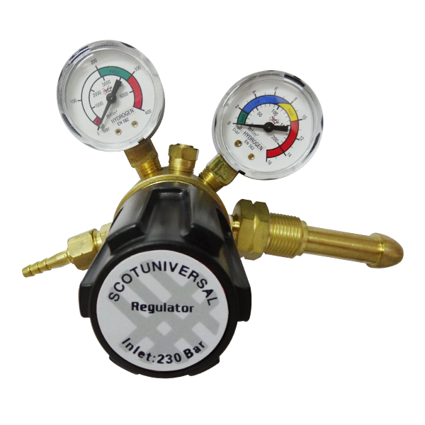 Helium Regulator-Scotuniversal Purging Regulator