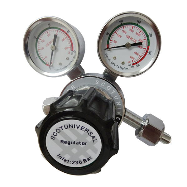 Stainless Steel Gases Regulator Scotuniversal