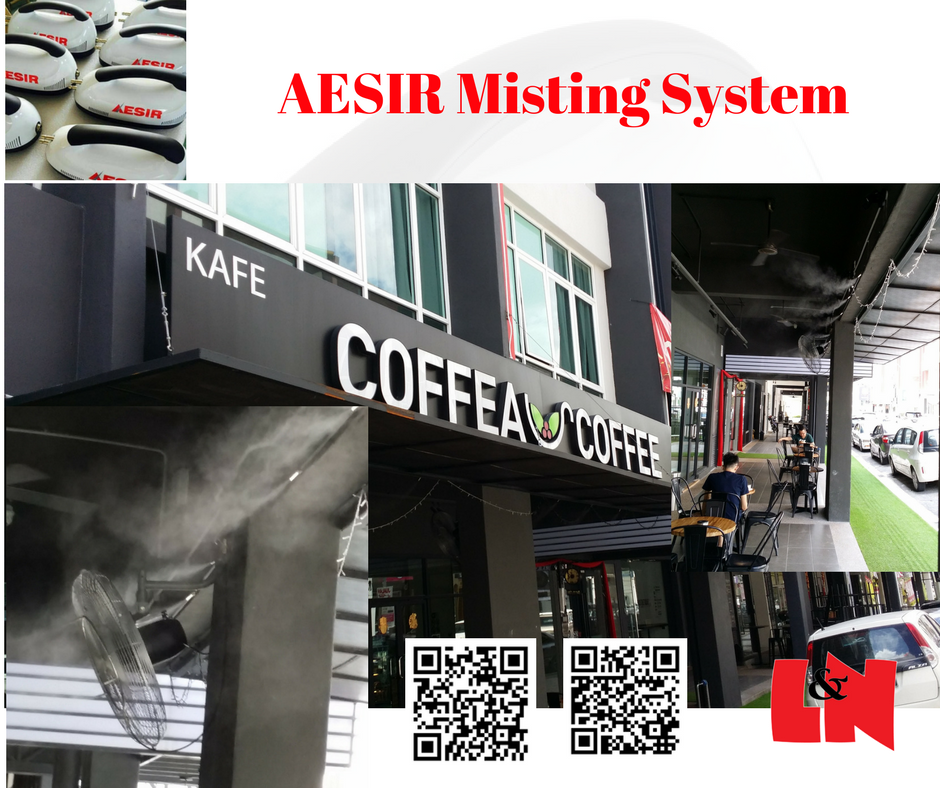 Commercial misting system
