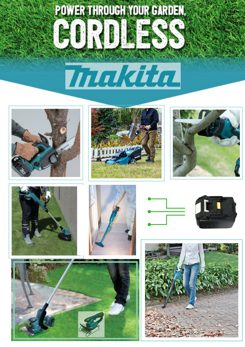 Makita outdoor power equipment