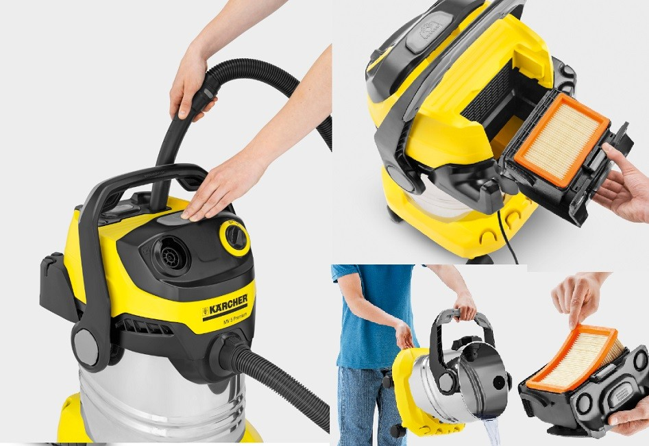 karcher commercial vacuum wd5 premium karcher vacuum series. Black Bedroom Furniture Sets. Home Design Ideas